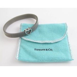Authentic Tiffany&Co. Stretch Heart Bracelet